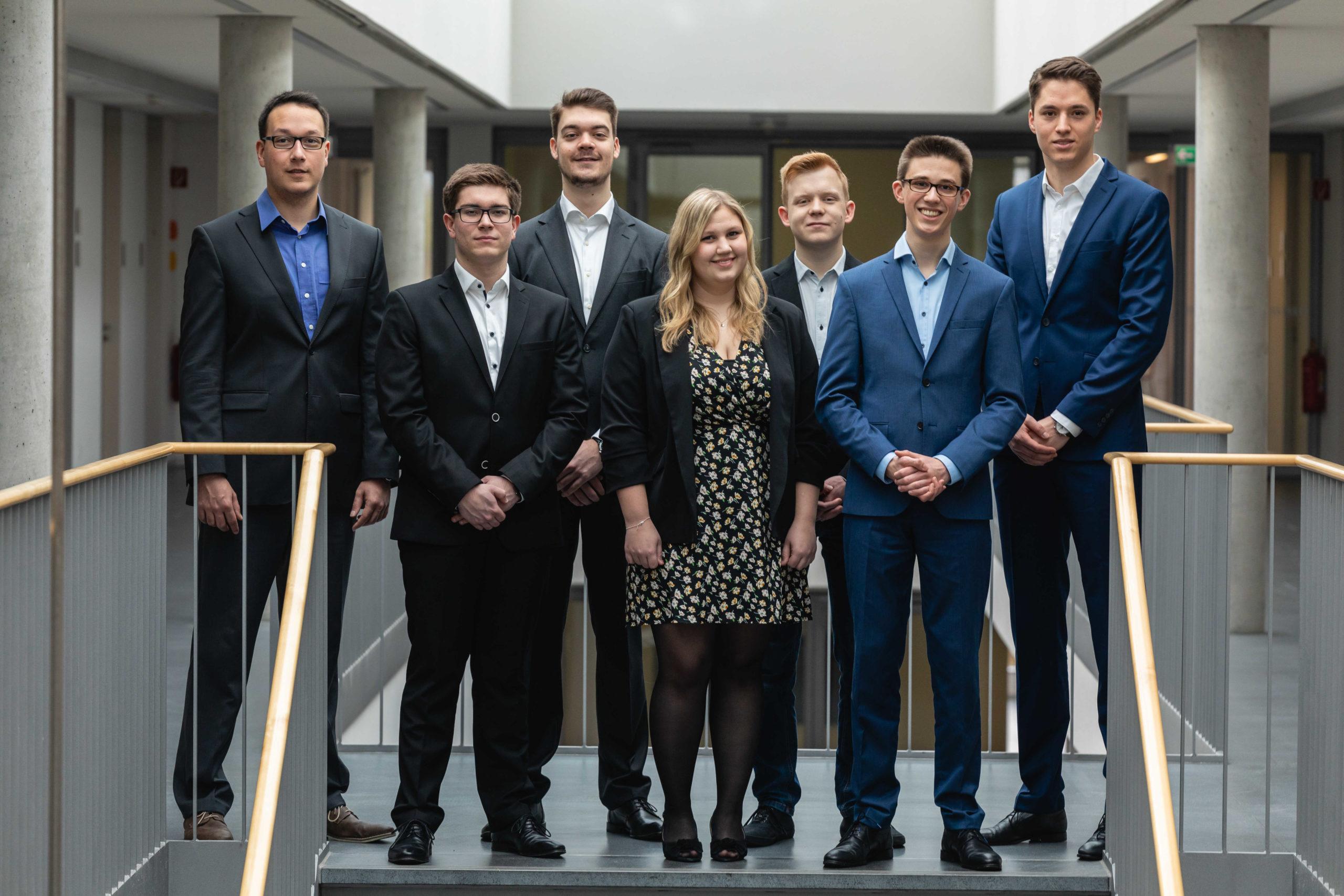 Vorstandsteam des Bayreuther Börsenvereins im Zeitraum 2019-20